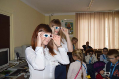 asystencki wykładowców w okularach