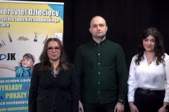 dr hab. Anna Wileczek, prof. UJK, mgr Paweł Garbuzki i mgr Anna Wileczek