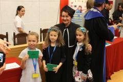 Pani Prorektor i 3 dziewczynki