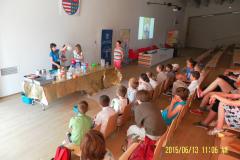 dzieci podczas wykładu