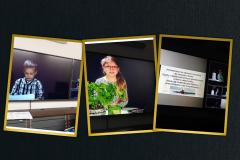 Zdjęcia z nagrywania wystąpień prelegentów