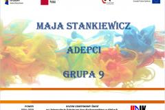 Strona tyułowa referatu autoraMaja Stankiewicz  – Kreator potrzeb, czyli jak marketing wpływa na moją decyzję